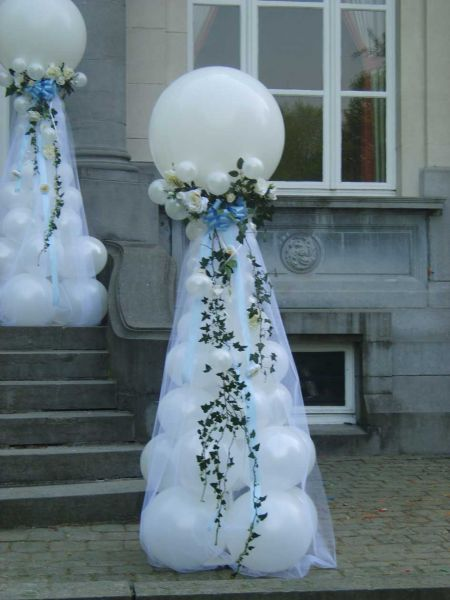 Kiddy balloons d coration pour mariage a waterloo belgique - Decoration ballon mariage ...